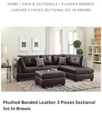 3 Piece Small Sectional 2279 mi