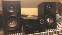 2.1 black Philips home theater system