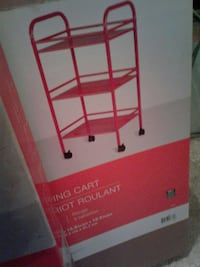 RED. Rolling Cart   NEW IN BOX Silver Spring, 20904
