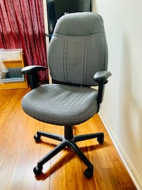 gray and black rolling armchair Baltimore, 21224