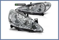 FAROS ANGEL EYES H7 H3 CROMO 307 MADRID
