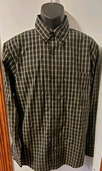 IZOD Jeans Button Down Long Sleeve Collared Shirt Middletown, 21769