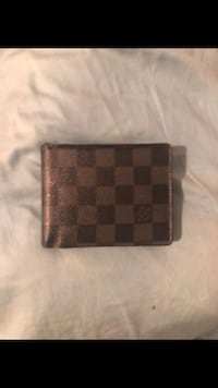 Brown and black louis vuitton leather wallet Los Angeles, 91605
