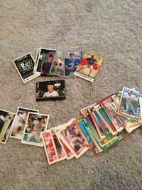 assorted baseball trading card collection Noblesville, 46062