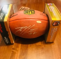 Autographed Robert Griffin III football