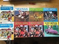 Complete set of 5 gremlins record books Disney show and tell Ingalls, 46048