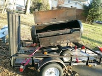 black and gray utility trailer Temple Hills, 20748