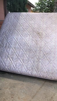 quilted white and gray floral mattress Midland, 79701