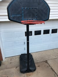 black and red basketball system Lawton, 73505
