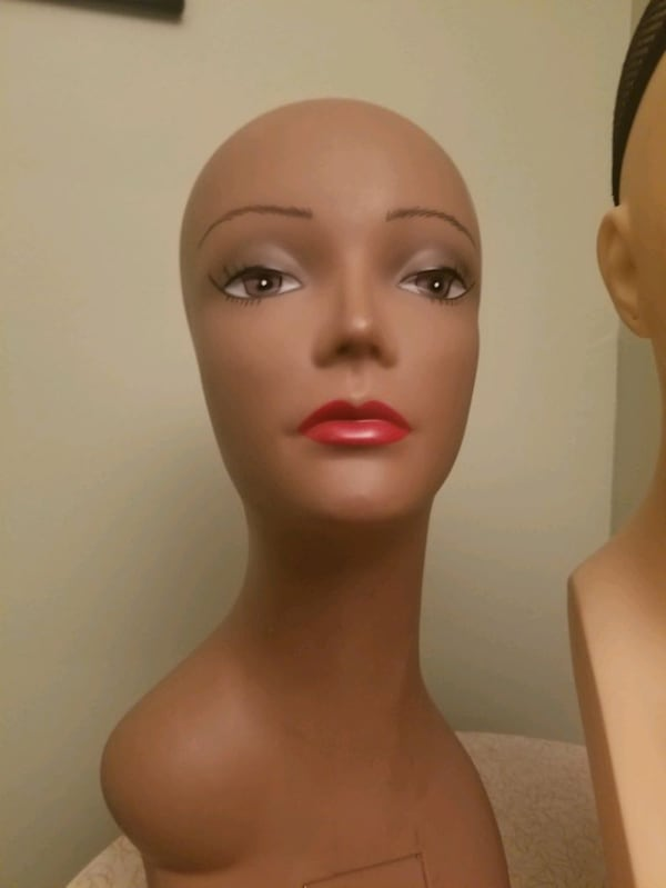 Myannequin Bust Wig Forms...great for hats amd necklaces as well wigs 8687afee-e676-404f-be6f-e341cb17a471
