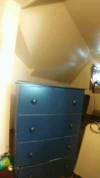 Blue dresser with blue nightstand for 60 Detroit
