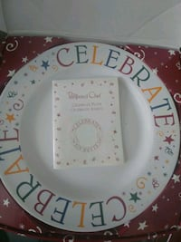 Pampered Chef Celebrate plate