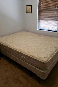 Queen Serta Mattress ,Box Spring, and frame Rio Rancho, 87144