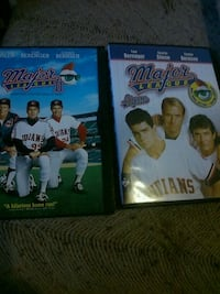Major league. 1 and 2