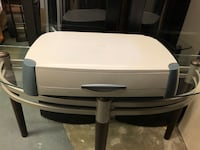 """Table top desk caddie has drawers approx 23"""" long 15"""" deep and 4.5"""" high Surrey, V3V 7L9"""