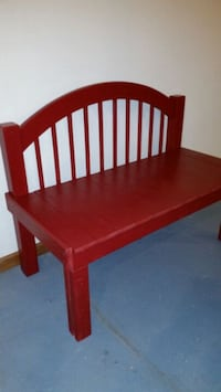 Bench made from bed frame  Monroe, 48161
