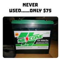 Never used 12 volt 20 amp hour batteries Calgary, T3J