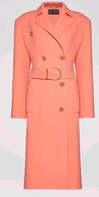 VersaceWOOL & CASHMERE BLEND COAT  - Shipping only