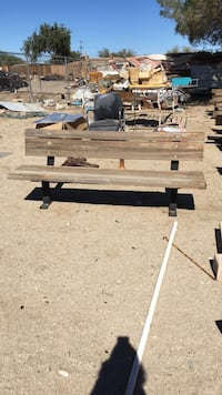 Yard art benches . Littlerock, 93543