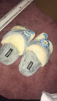 gray-and-brown home slippers Edmonton, T5N 2X7