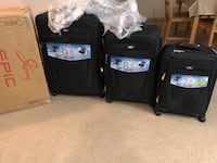 Skyway 3 piece travel luggage set !! BRAND NEW WITH TAGS!!!