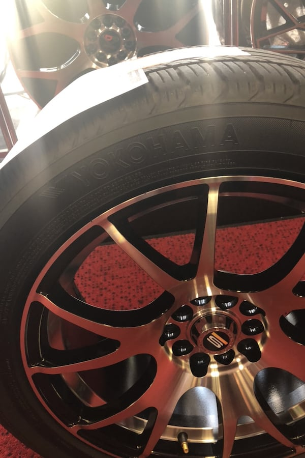 Spec 1 wheels and Yokohama tires  03544976-c698-468b-a4d0-bfbf907f0b40