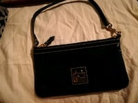 black leather 2-way bag Lubbock, 79414