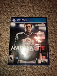 Madden nfl 18 ps4 perfect condition  Lexington, 40515