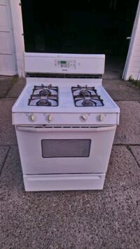 Gas stove delivery available  Clarence