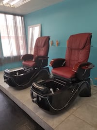 Massage pedicure chairs with lights  Chicago Heights