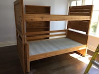 2 Spring Matrices + Bunk beds + Desk + Storage gabinete + 2 small supporters Toronto, M9A 4M6