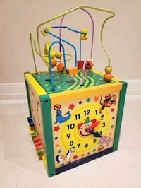 Activity cube for babies and toddlers