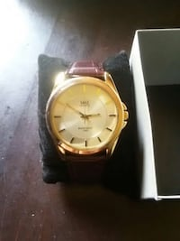 Gold Watch with Leather Strap Oklahoma City, 73139