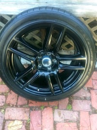 "19"" Black Chrome Rims..  Tifton"
