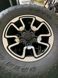Dodge Ram wheel and tires for sale