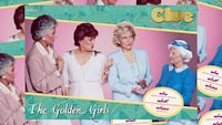 USAOPOLY CLUE GOLDEN GIRLS Centreville, 20121