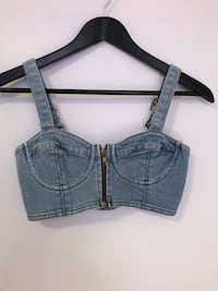 Denim bustier top  Coquitlam, V3K 4Z4