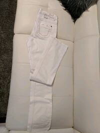 white and gray zip-up vest Barrie