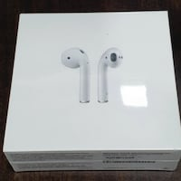 Apple AirPods 2 with wireless charging case. New, sealed in the box, never opened. (Newest model) PROVIDENCE