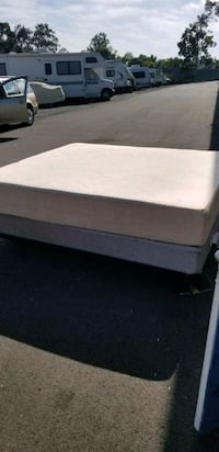 King size temperpedic bed with frame and box sprin Honolulu, 96816