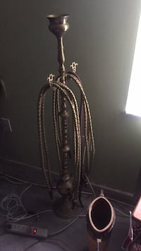"48""Solid Brass 6 man Hooka  only used a couple times Orlando, 32819"