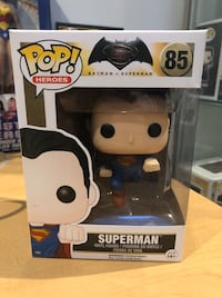Superman Batman Funko POP Dc comics Toronto, M4K 2H9