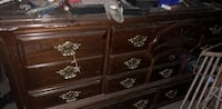 Dresser is a two part with mirror shelf that goes on top Edinburg, 78542