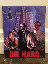 Die Hard 8x10 Art Print By Oscar Van - Limited Edition w/COA Brant, N0E 1R0