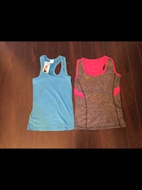 Girls size small (one new with tags, one gently used)  Milton