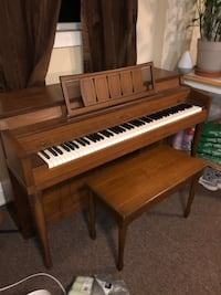 Vintage Winter and Company Piano