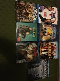 seven assorted Blu-ray games Las Vegas, 89108