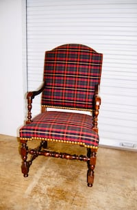 Set of 8 purple plaid dining chairs McLean, 22101