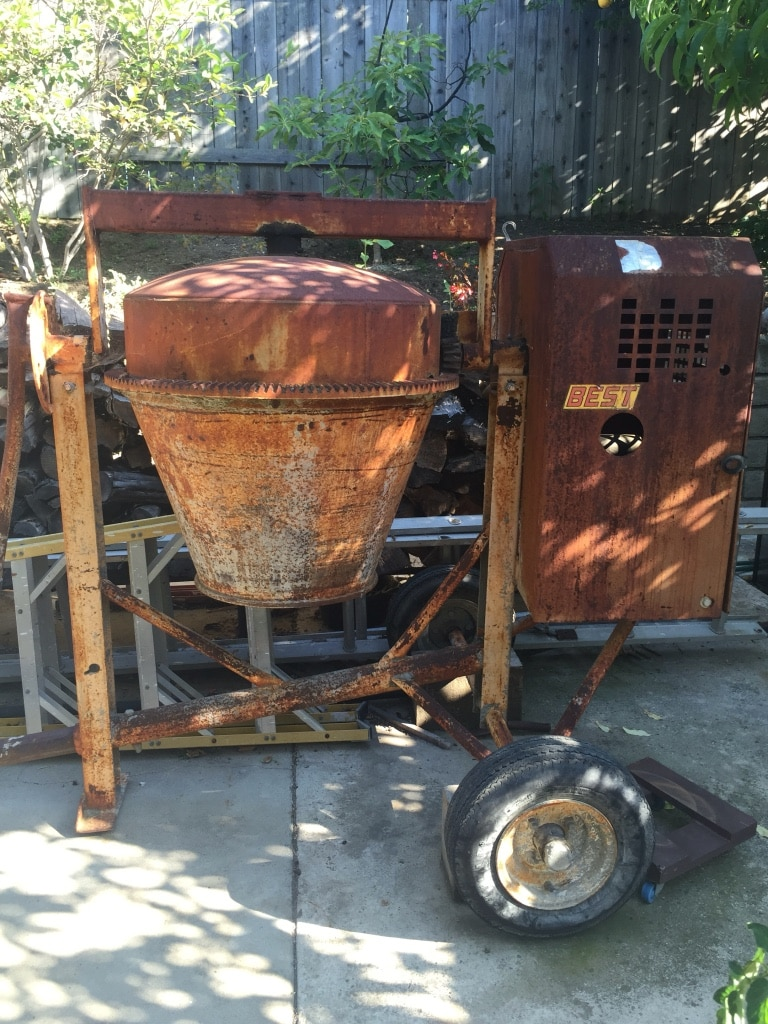 BEST 9 cubic feet cement mixer