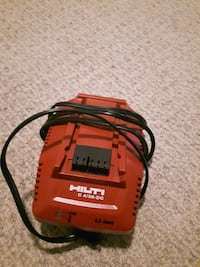 red and black Milwaukee battery charger Edmonton, T5C 1P2
